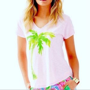 Lilly Pulitzer Colie T-Shirt in Palm Tree